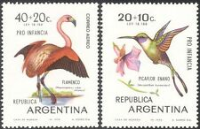 Argentina 1970 Flamingo/Woodstar/Birds/Nature/Wildlife/Welfare 2v set (n31666)