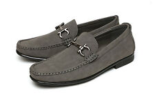 Mens Slip On Black Casual Shoes Smart Fashion Office Designer Dress Formal Sizes