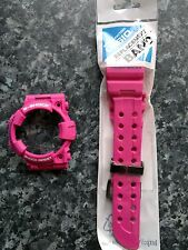 Casio gshock watch band and bezel gwf1000-sr4 pink frogman