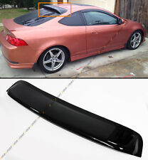 For 2002-06 Acura RSX DC5 Type-S JDM Style Smoke Tinted Rear Roof Visor Spoiler