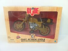 GI JOE FAST ATTACK CYCLE SPECIAL FORCES 35th ANNIVERSARY 1:6 HASBRO, MINT.