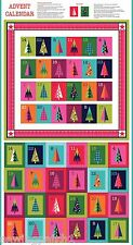 Wrap It Up Christmas Advent Calender,  bright fabric, 100% cotton. 1612-1