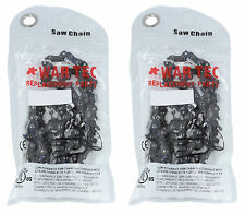 "15"" Chainsaw Chain Pack Of 2 Fits HUSQVARNA 235, 235E, 236, 236E, 240, 240E"