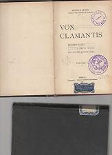 vox clamantis discorsi sacri e brevi tracce per uso giovane clero-angelo monti