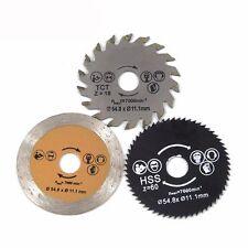 3pcs/set Tool Circular 85mm Wood Saw Blade Cutting Disc Wheel Metal