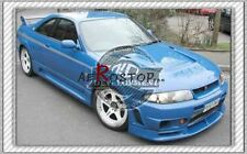FRP FIBER GLASS 400R WIDE WHEEL FENDER FLARE FOR NISSAN R33 GTS GTST