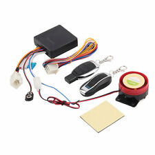 Scooter Alarm System Motor Lock Safety 2 Remote Control Anti-Theft Moped HG