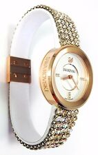 Swarovski Watch Piazza Mini Silk mesh Rose Gold 30 mm ref 5027319 Swiss Made