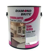 Diamond Brite Paint 21700 1-Gallon Semi Gloss Latex Paint Dove Grey