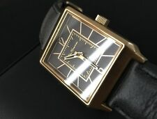 Mens Ben Sherman Designer Watch R945 Gold PVD Date Serviced