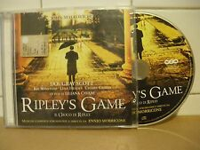 RIPLEY'S GAME - 1  CD - ENNIO MORRICONE - (D74)