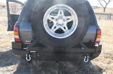 Rock Hard 4x4 Patriot Rear Bumper w/ Tire Carrier 99-04 Jeep Grand Cherokee WJ