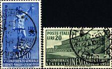 ITALIA REP. - 1950 - Quinta Conferenza dell'UNESCO