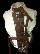 Bound to be Loved Straight jacket leather XXXXL  4XL - custom made in  USA!