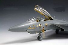 New 1/72 US Navy Tomcat F-14 F-14A Update Detail PE Etched for Trumpeter D539