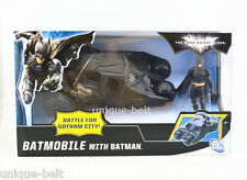 The Dark Knight Batman Figure with Batmobile Tumbler Car Vehecle Toy New in Box