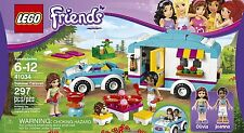 NEW Lego Friends  Summer Caravan Car + Camper Trailer 41034  Sealed Box Camping
