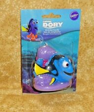 Finding Dory,We Swim Birthday Candle,Mulit-Color,Wilton,2811-8933,Wax,Topper
