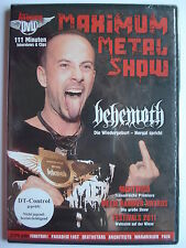 Maximum Metal Show DVD Januar 2012  _ Nightwish_ DEathstars_ Paradise Lost_ Pain