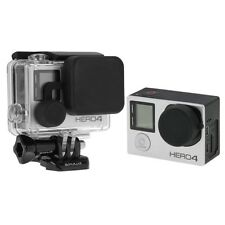 Protective Camera Lens Cap + Housing Case Cover Set for GoPro HERO4 3+ 3