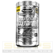Muscletech PLATINUM 100% GLUTAMINE Amino Acid 5g 60 Servings