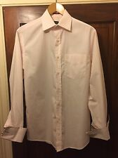 Paul smith chemise homme taille 15 col rose clair