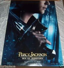 Percy Jackson Sea of Monsters Original Movie Poster, LARGE 48' X 72' Size, NEW!