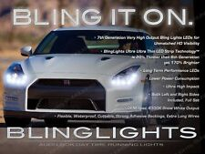 LED DRL Head Light Strips Day Time Running Lamps Kit for Headlights Nissan GT-R