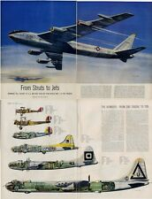 1952  From Struts to Jets by John T. McCoy Jr Huge 13 page Rare PRINT ARTICLE