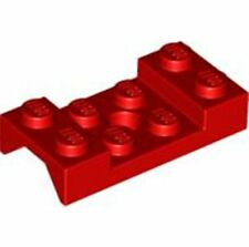 LEGO Vehicle, Mudguard 2 x 4 with Arch Studded(60212)_Red_4600176 (Lot of 20)