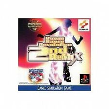 USED Dance Dance Revolution 2nd ReMIX Japan Import PS