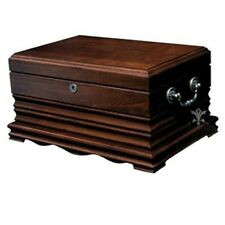 Quality Importers Tradition 125 Cigar Solid Wood Antique Humidor HUM-150SW NEW
