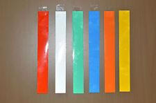 12 Arrow Wraps 9/32, 5/16, 11/32 aus reflektierender Folie in 6 Farben