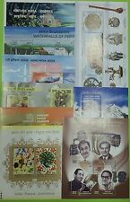 INDIA Complete Set of 9 Miniature Sheets MNH - 2003 YEAR PACK of Miniatures