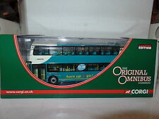 CORGI OOC ARRIVA LEICESTER WRIGHT ECLIPSE GEMINI BUS MODEL OM41218 A City Centre