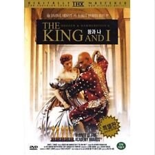 The King and I (1956) DVD - Yul Brynner (New & Sealed)