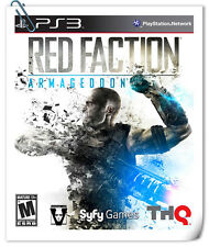 PS3 SONY PlayStation RED FACTION: ARMAGEDDON THQ Action Adventure