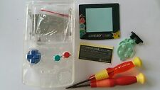 CARCASA COMPLETA COMPATIBLE GAME BOY COLOR POKEMON2 CLEAR +COLOR BUTTON NEW