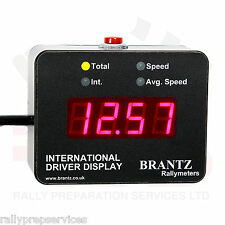 International 2'S' Driver Display Unit RACE RALLY OFF ROAD COMPETITION