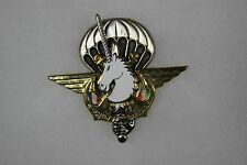 French Airborne Paratrooper Operation Licorne Badge Pin Boussemart 2002 026