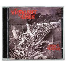 VIOLENT OMEN Lunatic's Revenge CD 2011 Technical Thrash Metal vektor toxik aspid
