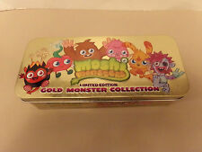 BOXED GOLD COLLECTION OF MOSHI MONSTER PLAY FIGURES BY MIND CANDY, MINT.