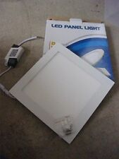 LED PANEL LIGHT SQUARE  L225MM/ 205MM NEW IN BOX