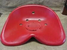 HUGE Vintage Metal Tractor Seat   Old Antique Farm Equipment Iron Cast 8760