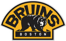 "Boston Bruins NHL Hockey Car Bumper Window Locker Notebook Sticker Decal 6""X3"""