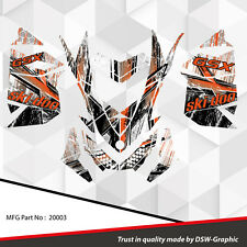 SKI-DOO XP MXZ SNOWMOBILE SLED WRAP GRAPHICS STICKER DECAL KIT 2008-2013 20003