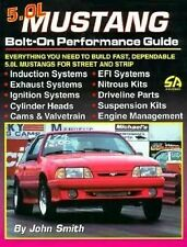 *NEW* S-A 54 5. 0 Litre Mustang Bolt-on Performance Guide by John E. Smith