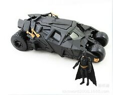 BATMAN The Dark Knight Avec Figurine Jouets BATMOBILE Poupée Verre Vehecle