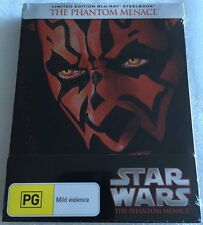 Star Wars I: The Phantom Menace Steelbook - Exclusive Limited Edition Blu-Ray