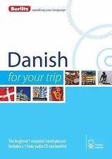 Berlitz Danish for Your Trip by Berlitz Berlitz Publishing (2014, CD /...
